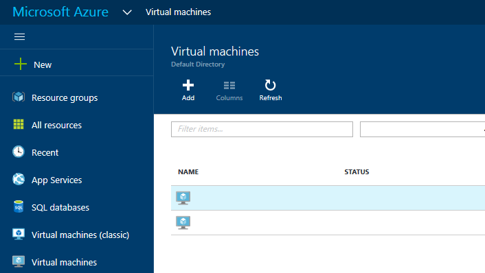 How to Create an Availability Set on New Azure Portal