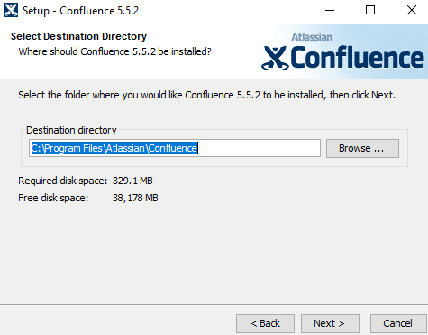 upgrade confluence 5.x to recent version